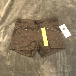 Active Life Heather Charcoal Shorts